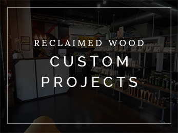 orlando reclaimed wood custom projects
