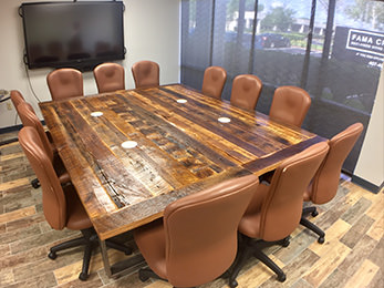 Orlando Custom Reclaimed Wood Furniture Fama Creations - Custom dining room table and chairs