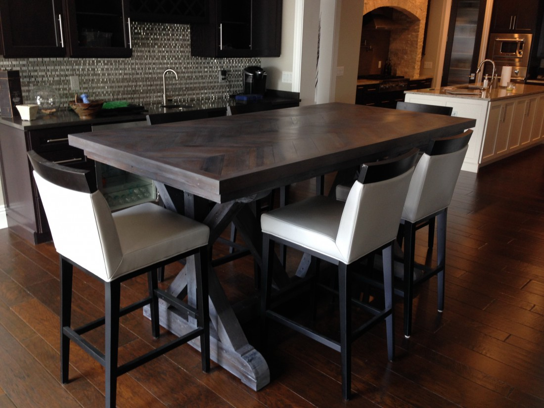 Reclaimed wood table Orlando