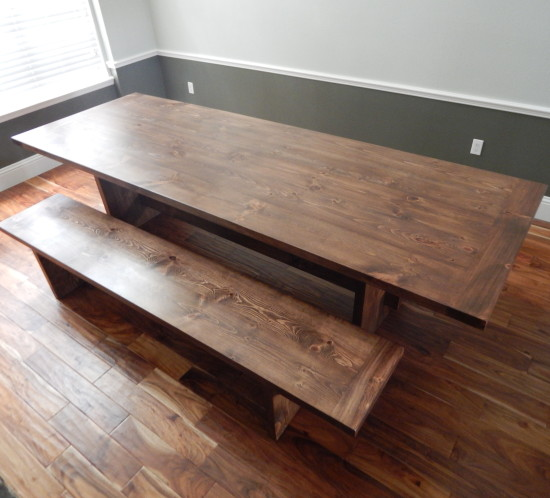 Orlando Trestle leg dining table