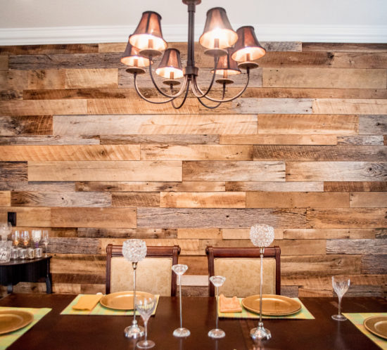 Orlando reclaimed wood walls barnwood