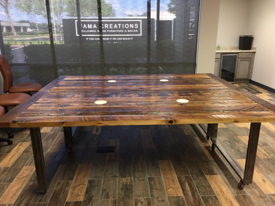 Orlando Reclaimed Wood Table