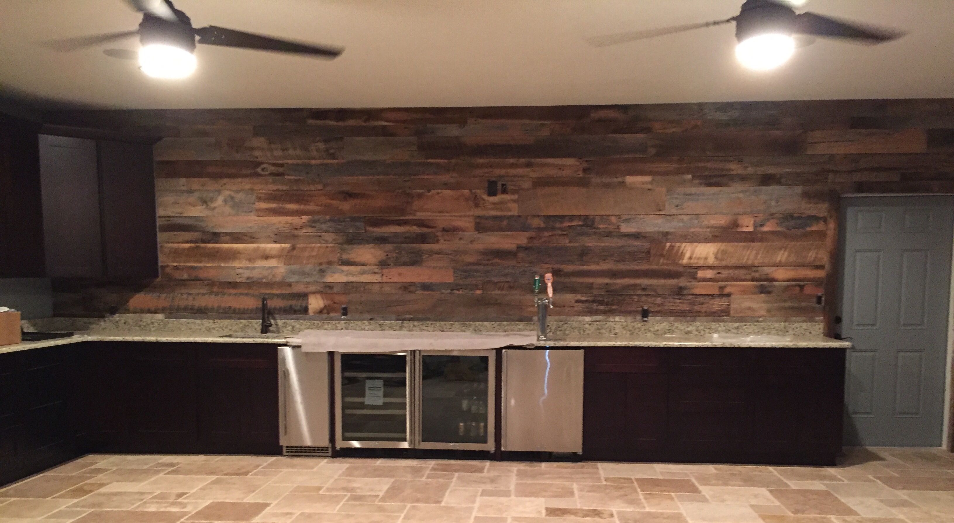 Mcgill S Reclaimed Wood Wall Project Fama Creations