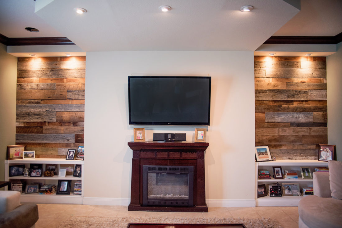 Fama 39 S Reclaimed Wood Accent Walls Fama Creations