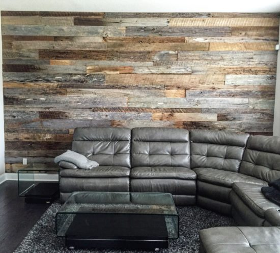 Reclaimed Wood Wall Orlando