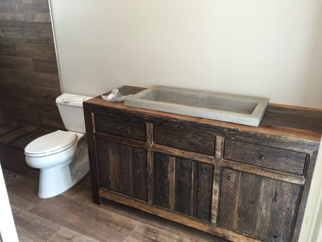 Robbie 39 S Rustic Reclaimed Wood Bathroom Vanity Fama Creations