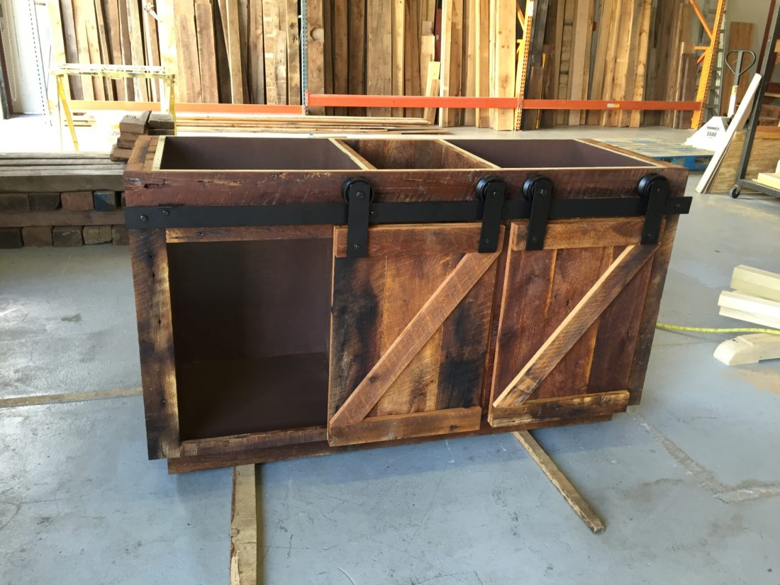Connie S Reclaimed Wood Bathroom Vanity Fama Creations