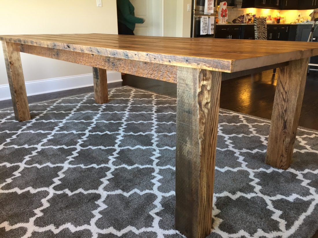 orlando farmhouse kitchen table