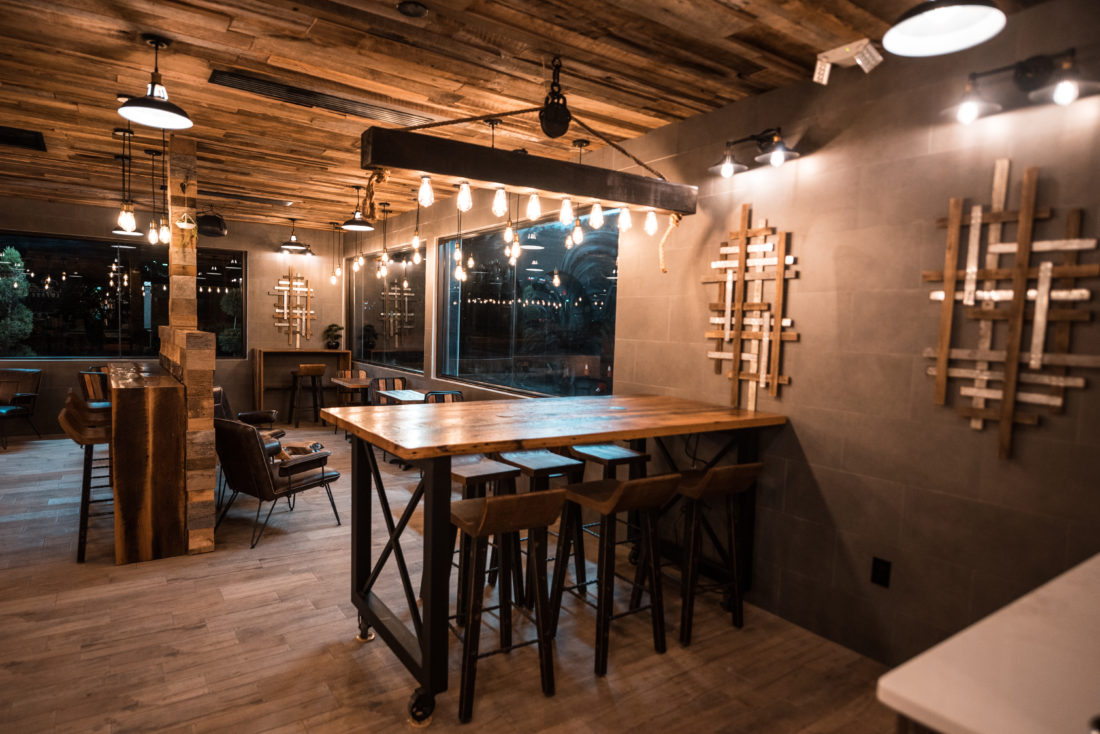 Commercial Reclaimed Wood Project